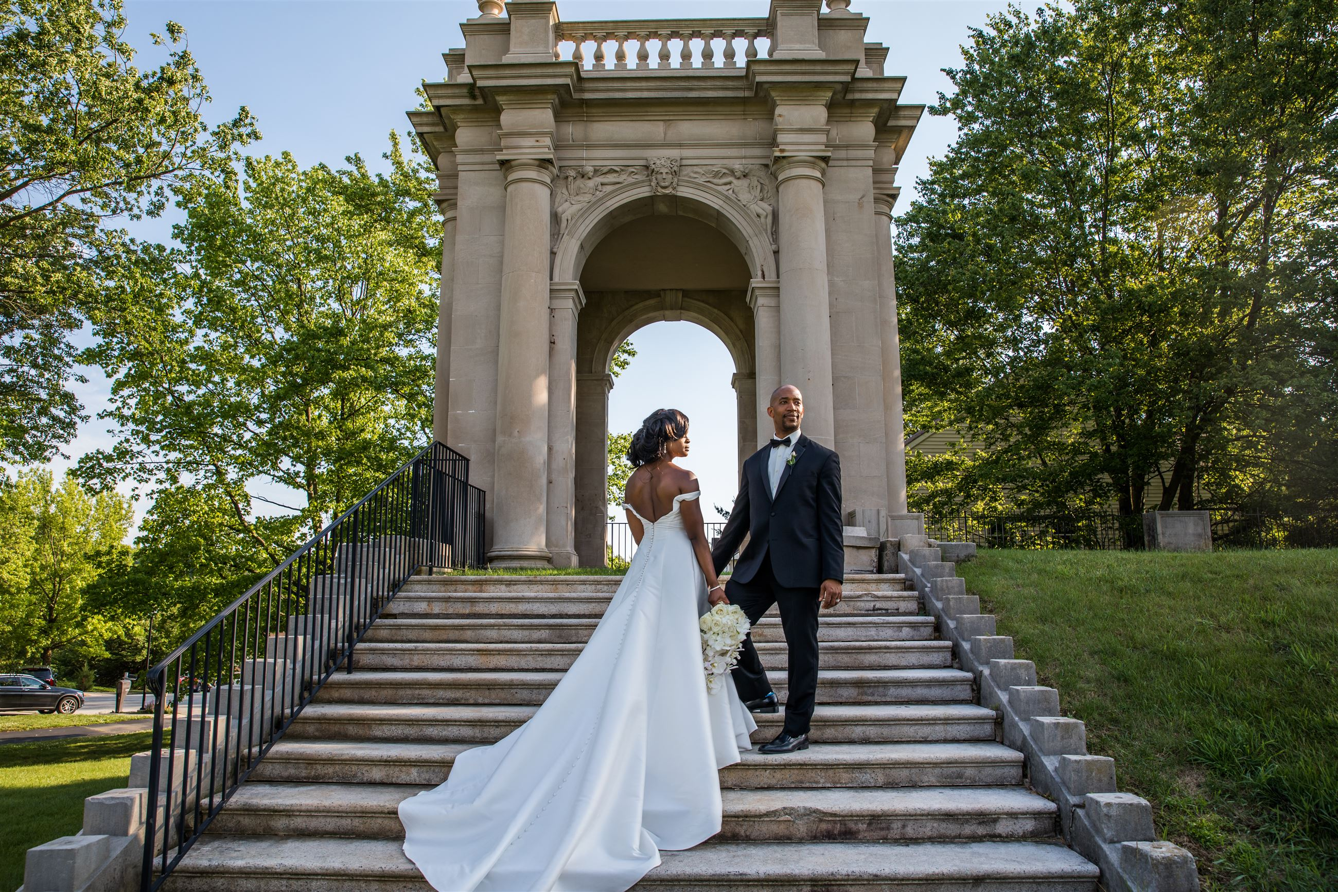 Inspiring Couple Kerry-Anne and Michael Gordon Tie The Knot In This Beautiful Philadelphia Wedding