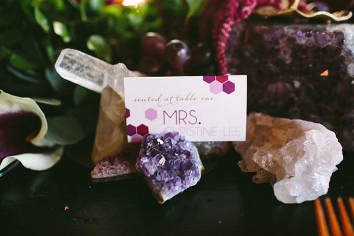 geode wedding ideas