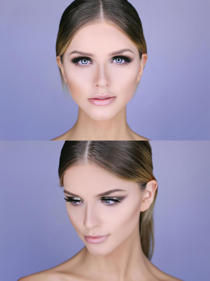 smokey eye wedding makeup ~ we ❤ this! moncheribridals.com