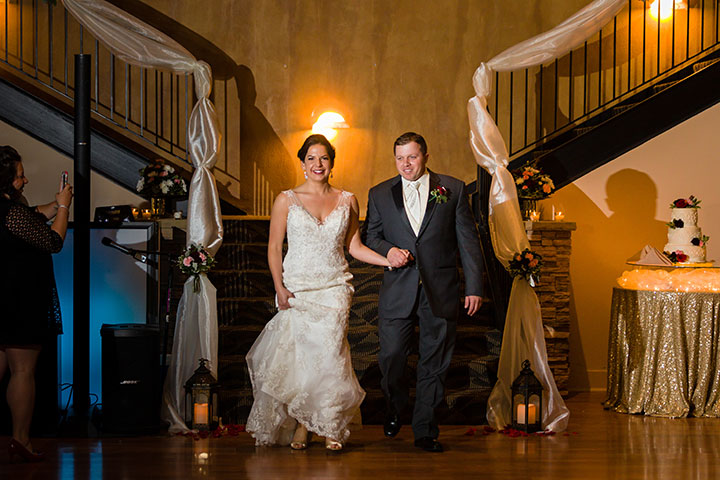 "Stunning Bride Wears Sophia Tolli Fit & Flare Dress ""Monaco"""