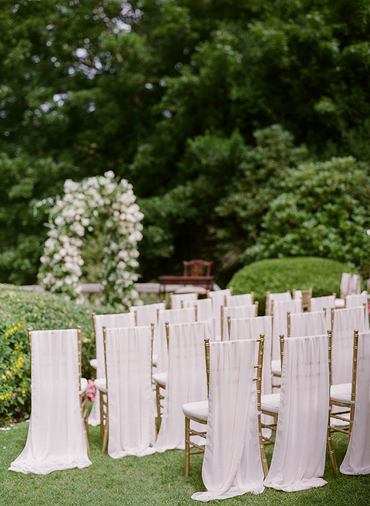 Dreamy Draped Wedding At Hycroft Manor