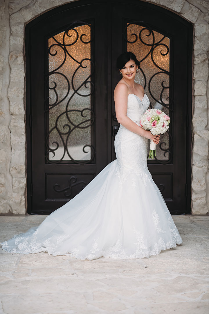"Sophia Tolli ""Begonia"" Captured This Bride's Heart"