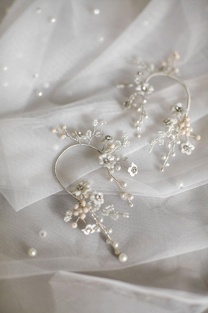 Exquisite Bridal Accessories by Jonida Ripani