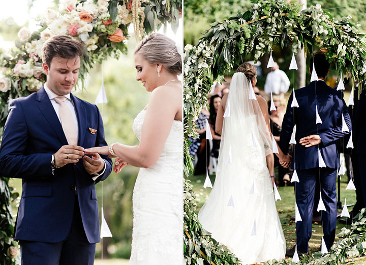 Travel Themed Summer Wedding In South Africa