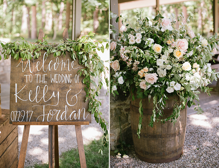 Soft & Romantic Summer Wedding Florals