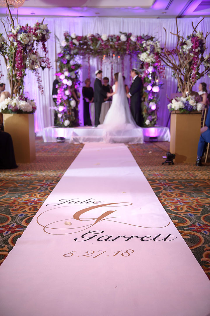 Fairy Tale Wedding With Touches of Plum, Ivory & Gold