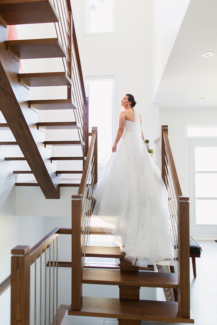 "Allover Shimmer Tulle Makes ""Orion"" A Popular Choice Among Brides"