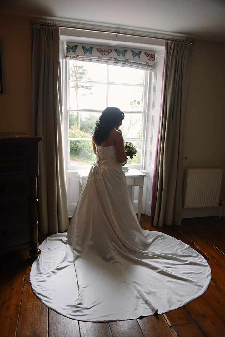 "Old Hollywood Glamour For This Bride Wearing Sophia Tolli ""Desiree"""