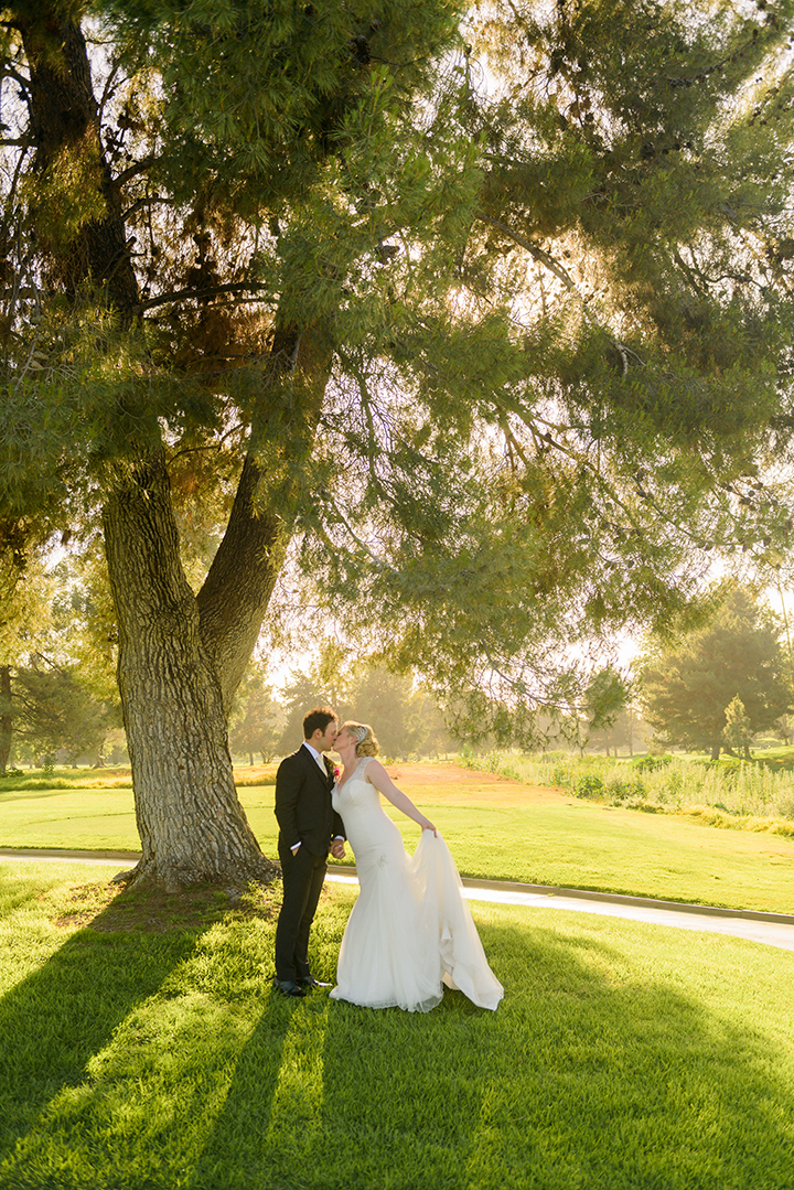 """An Absolutely Magical Day"" In Sophia Tolli's Tulle Trumpet Wedding Gown"