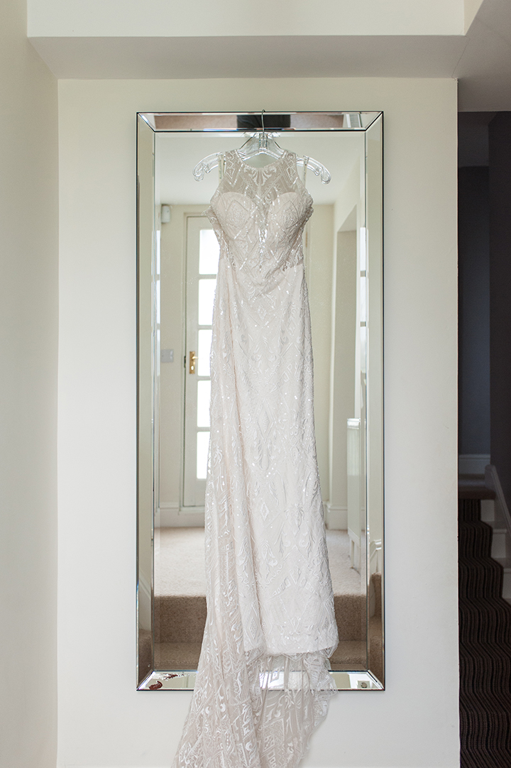 "Feeling ""Special & Beautiful"" In Sophia Tolli ""Zena"""