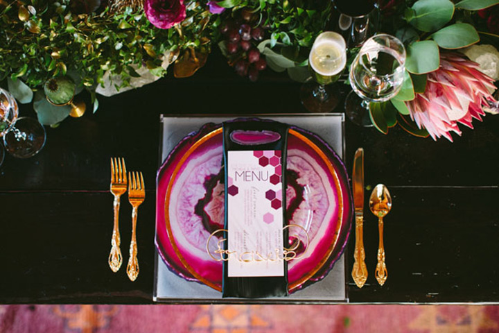Agate & Geode Wedding Ideas
