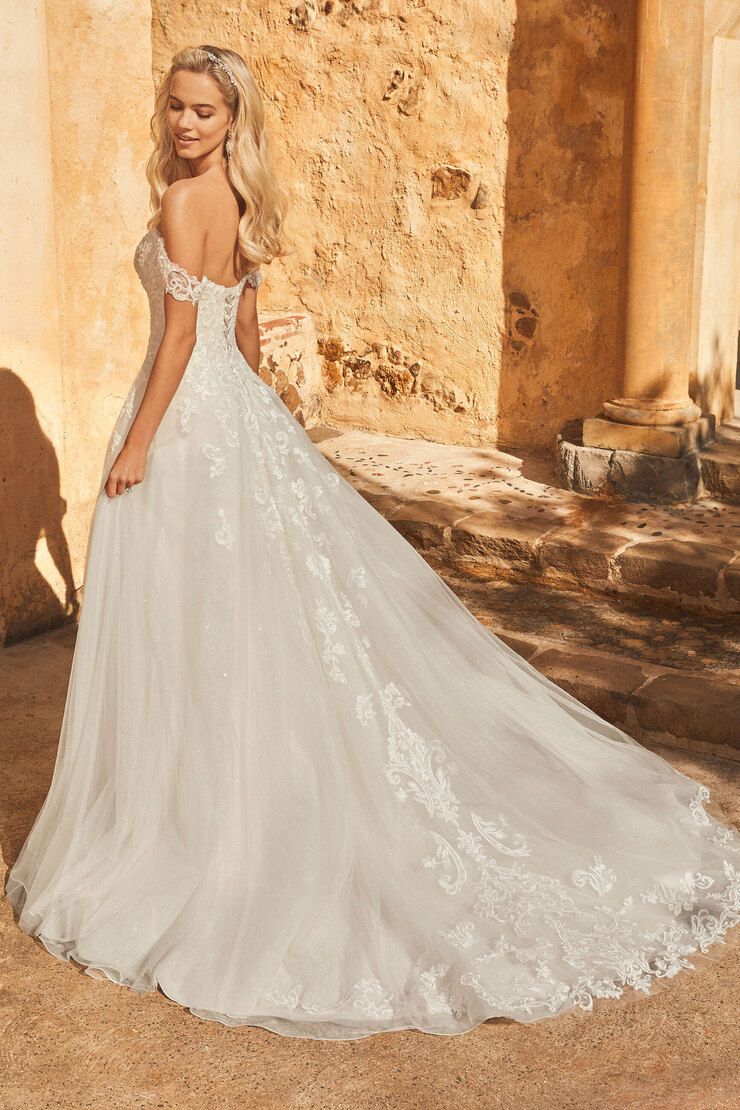 Shimmering Princess A-Line Wedding Dress Trixie