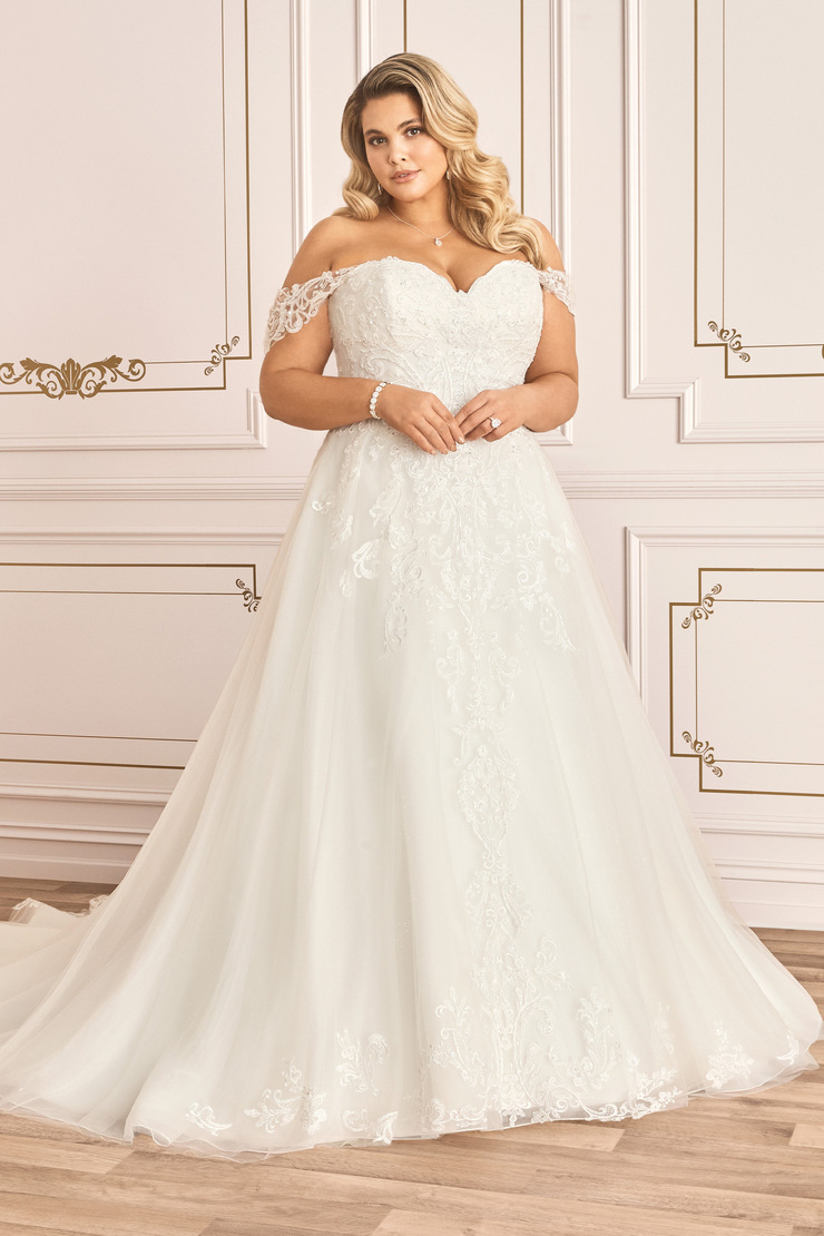 Classic Sweetheart Lace A-Line Wedding Dress Trixie
