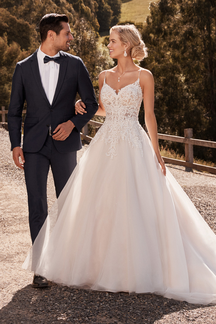 Classic Princess Ballgown with Shimmer Tulle Jasmine